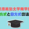 慶應義塾大学商学部A方式とB方式の違いは?